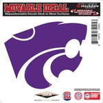 "Stockdale Kansas State University 6"" x 6"" Decal"