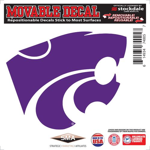 Stockdale Kansas State University 6' x 6' Decal