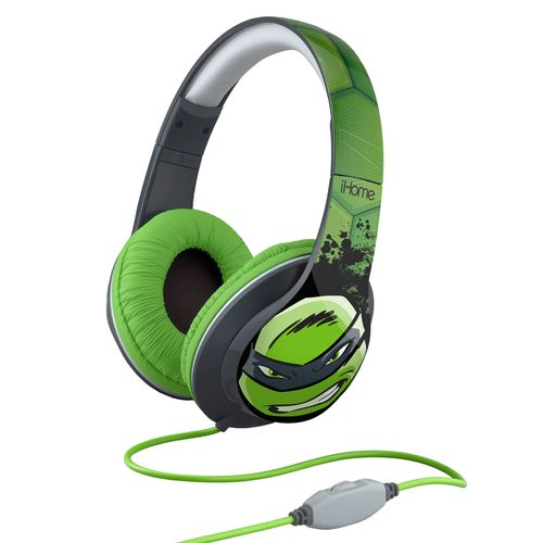 iHome Nickelodeon Teenage Mutant Ninja Turtles Over-the-Ear Headphones