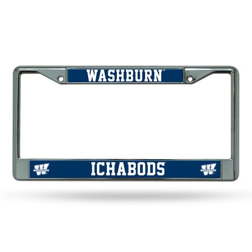 Rico Washburn University Chrome License Plate Frame