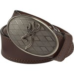 Browning Men's Oval Buckmark Buckle Belt