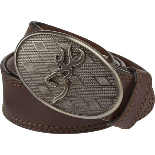 Browning™ Men's Oval Buckmark Buckle Belt