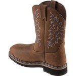 Brazos® Men's Bandero Square Toe Wellington Work Boots - view number 3