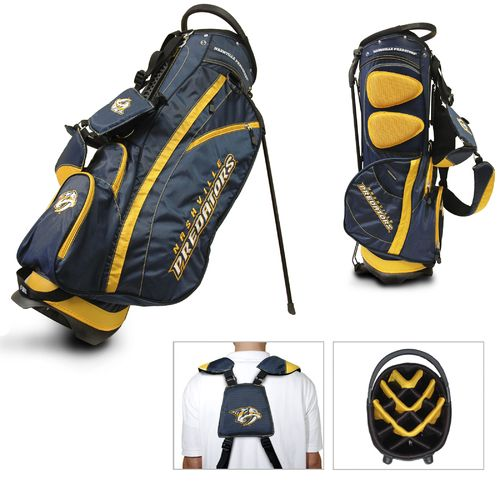 Team Golf Nashville Predators Fairway 14-Way Stand Golf Bag - view number 1
