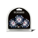 Team Golf University of Arizona Poker Chip and Golf Ball Marker Set - view number 1