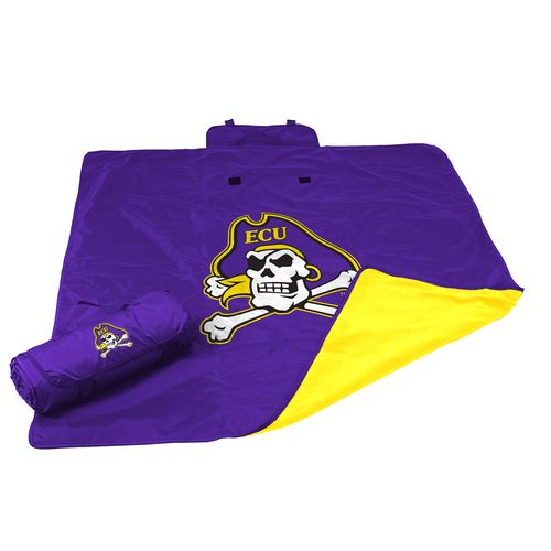 Logo™ East Carolina University All-Weather Blanket - view number 1