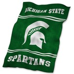 Logo™ Michigan State University Ultrasoft Blanket - view number 1