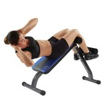 Pure Fitness Ab Crunch Sit-Up Bench