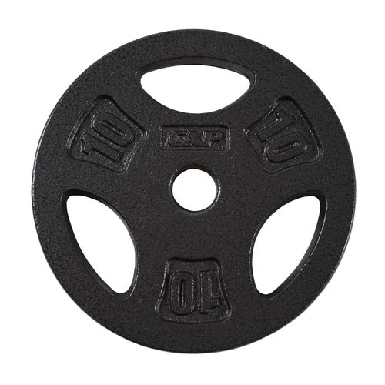 CAP Barbell 10 lb. Regular Grip Plate