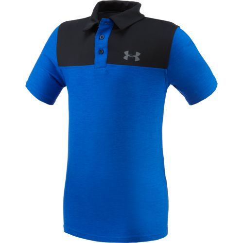 Under Armour™ Boys' Match Play Blocked Polo Shirt