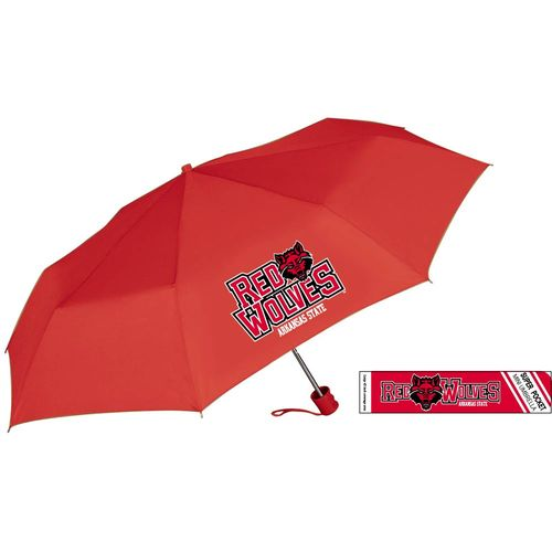 Storm Duds Arkansas State University Pocket Mini Folding Umbrella