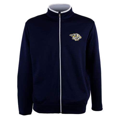 Antigua Men's Nashville Predators Leader Full Zip Jacket