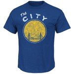 Majestic Men's Golden State Warriors Post Up T-shirt