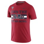 Nike Men's University of Mississippi Own the Sugar Bowl T-shirt