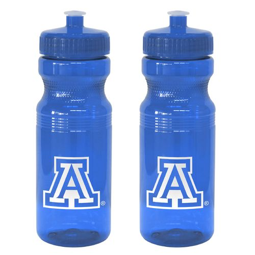 Boelter Brands University of Arizona 24 oz. Squeeze Water Bottles 2-Pack