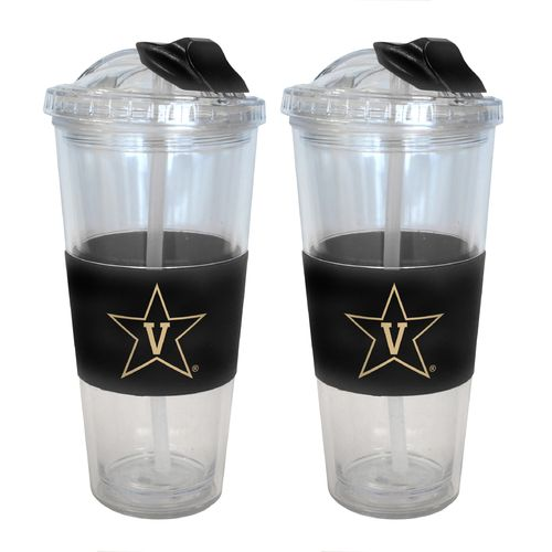 Boelter Brands Vanderbilt University 22 oz. No-Spill Straw