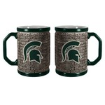 Boelter Brands Michigan State University Stone Wall 15 oz. Coffee Mugs 2-Pack