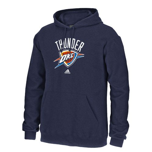 adidas™ Adults' Oklahoma City Thunder Fleece Hoodie