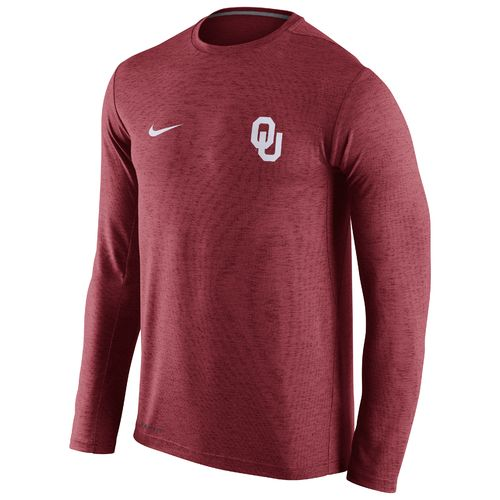Nike™ Men's University of Oklahoma DF Touch Long Sleeve T-shirt