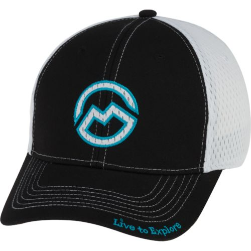 Magellan Outdoors Men's Logo Bball Mesh Flex Fit Trucker Cap