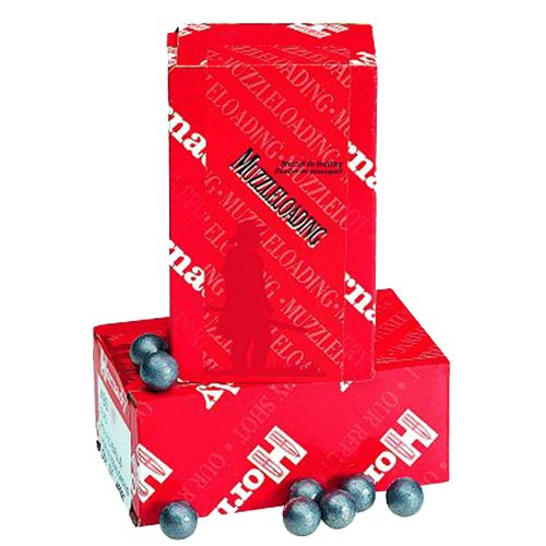 Hornady 54 Black Powder 228-Grain Lead Balls 100-Pack