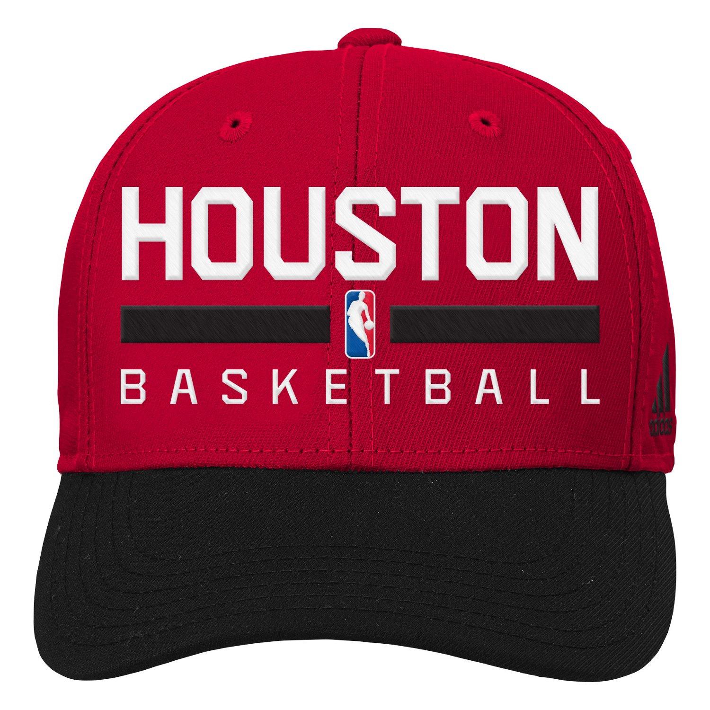adidas™ Boys' Houston Rockets Adjustable Practice Cap