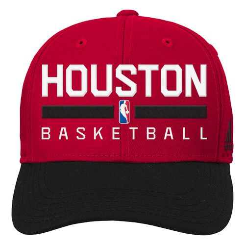 adidas™ Boys' Houston Rockets Adjustable Practice Cap