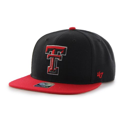 '47 Men's Texas Tech University Sure Shot 2-Tone Captain Cap