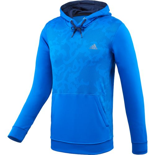 adidas Men's Team Issue Allover Print Fleece Pullover Hoodie