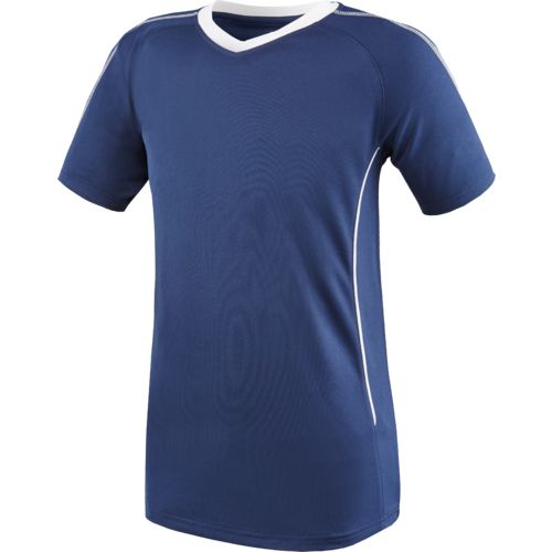 BCG Boys' Piped V-neck Soccer Shirt