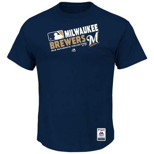 Majestic Men's Milwaukee Brewers On Field Team Choice