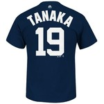 Majestic Men's New York Yankees Masahiro Tanaka #19 T-shirt