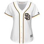 Majestic Women's San Diego Padres Cool Base Replica Jersey