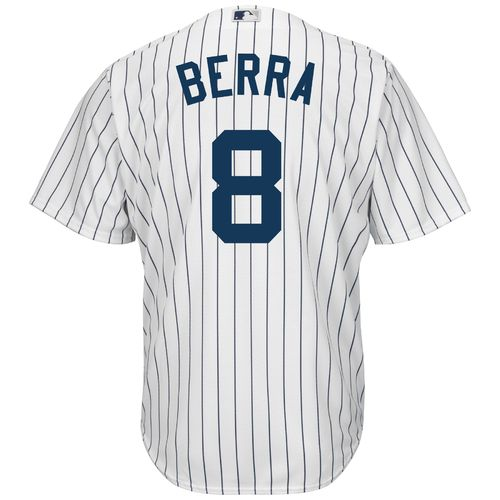 Majestic Men's New York Yankees Yogi Berra #8 Cool Base Replica Jersey