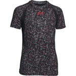 Under Armour™ Boys' HeatGear® Armour® Up Printed Short Sleeve Fitted T-shirt