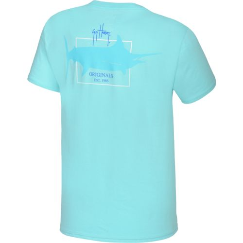 Guy Harvey Adults' GH Logo Pocketed Graphic T-shirt