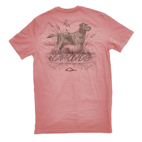 Display product reviews for Drake Waterfowl Men's Southern Collection Lab with Cattails T-shirt