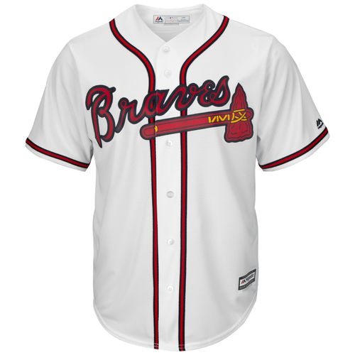 Majestic Men's Atlanta Braves Greg Maddux #31 Cool Base Home Replica Jersey - view number 2