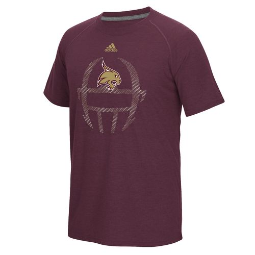 adidas™ Men's Texas State University Sideline Helmet Dot T-shirt