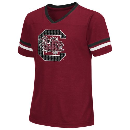 Colosseum Athletics™ Girls' University of South Carolina Titanium T-shirt