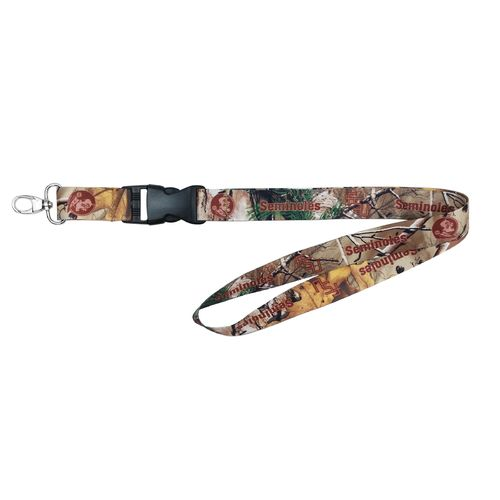 NCAA Florida State University Realtree Xtra® Lanyard - view number 1
