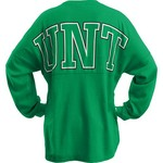 Three Squared Juniors' University of North Texas Big Time Outline Sweeper T-shirt