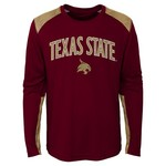 NCAA Boys' Texas State University Ellipse T-shirt