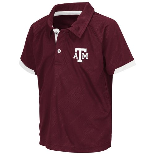 Colosseum Athletics™ Toddlers' Texas A&M University Spiral Polo Shirt