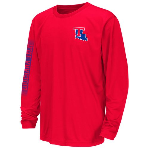 Colosseum Athletics™ Juniors' Louisiana Tech University Long Sleeve T-shirt