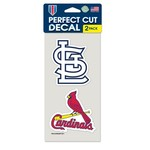 WinCraft St. Louis Cardinals Die-Cut Decals 2-Pack - view number 1