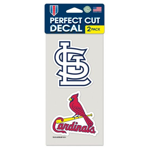 WinCraft St. Louis Cardinals Die-Cut Decals 2-Pack