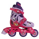 PlayWheels Girls' Disney Princess Convertible Skates
