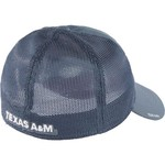 adidas™ Men's Texas A&M University Coach Flex Mesh Back Slope Cap - view number 2