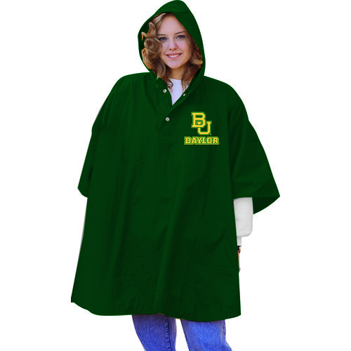 Storm Duds Adults' Baylor University Slicker Heavy Duty PVC Poncho